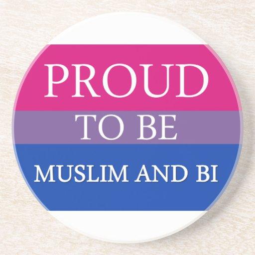Orgulloso ser musulmán y BI Posavaso Para Bebida