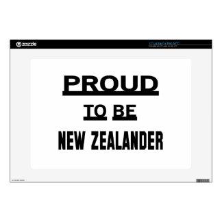 Orgulloso ser neozelandés portátil 38,1cm skins