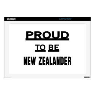 Orgulloso ser neozelandés skins para portátil