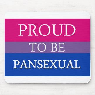 Orgulloso ser Pansexual Tapete De Ratones