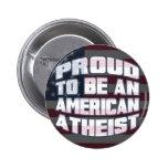 Orgulloso ser pernos de un ateo del americano pin
