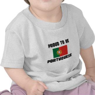 Orgulloso ser PORTUGUÉS Camiseta
