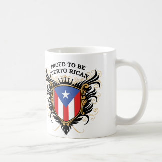Orgulloso ser puertorriqueño taza
