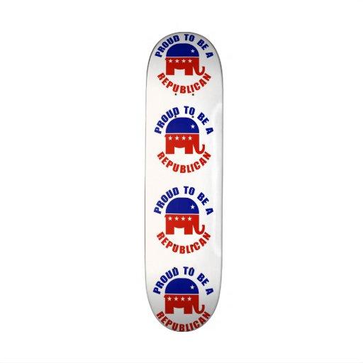 Orgulloso ser republicano tablas de skate