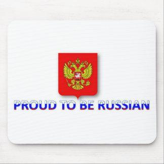 orgulloso ser ruso 2 alfombrillas de ratón