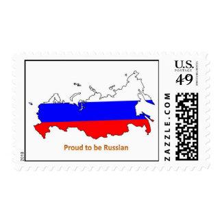 orgulloso ser ruso franqueo