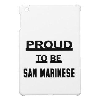 Orgulloso ser San Marinese