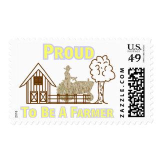 Orgulloso ser sellos del granjero