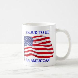 Orgulloso ser taza americana
