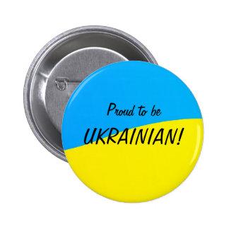 Orgulloso ser ucraniano pins
