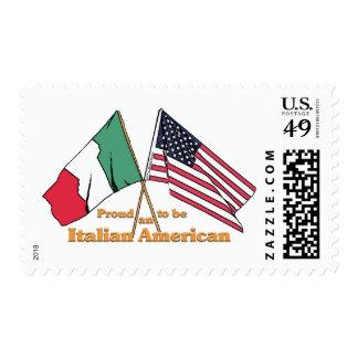 Orgulloso ser un americano italiano timbres postales