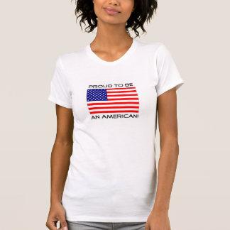¡Orgulloso ser un americano! Playera