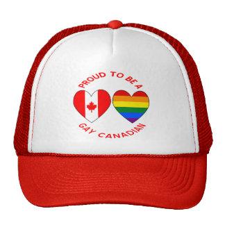 Orgulloso ser un canadiense del gay gorro