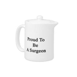 Orgulloso ser un cirujano