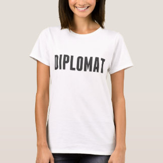 Orgulloso ser un diplomático playera