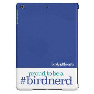 Orgulloso ser un empollón del pájaro funda para iPad air