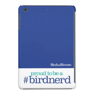 Orgulloso ser un empollón del pájaro funda para iPad mini retina