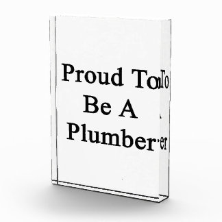 Orgulloso ser un fontanero