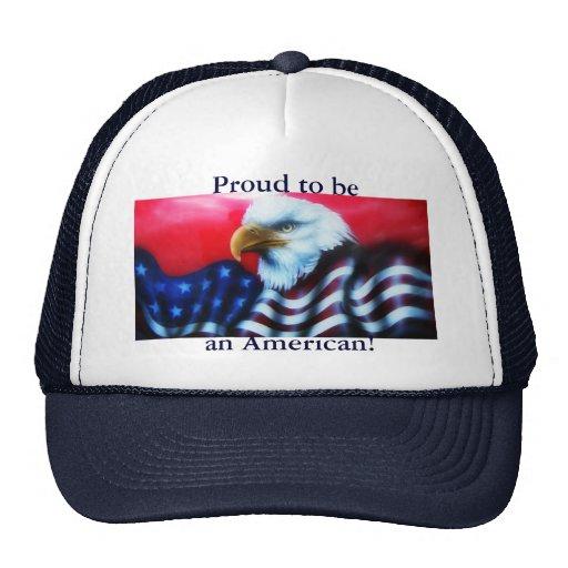 Orgulloso ser un gorra americano