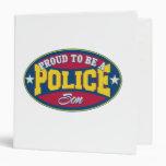 Orgulloso ser un hijo de la policía