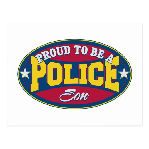 Orgulloso ser un hijo de la policía postal