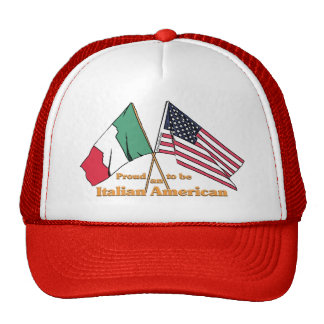 Orgulloso ser un Italiano-Americano Gorros Bordados