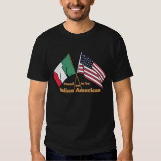 Orgulloso ser un Italiano-Americano Playeras