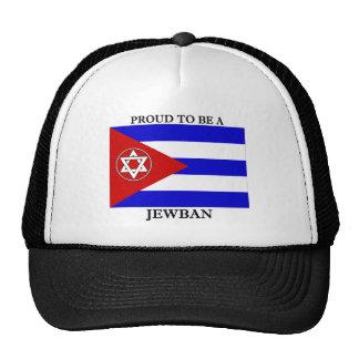 Orgulloso ser un Jewban Gorras