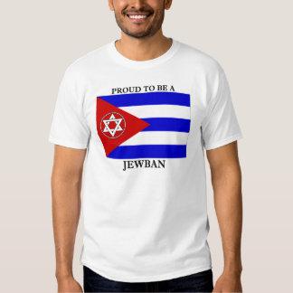 Orgulloso ser un Jewban Remera