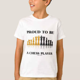 Orgulloso ser un jugador de ajedrez (juego de remeras