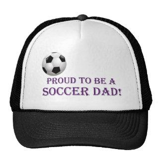 ¡Orgulloso ser un papá del fútbol! Gorro De Camionero