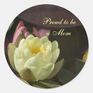 Orgulloso ser un pegatina de la mamá