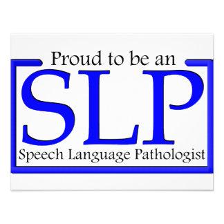 Orgulloso ser un SLP Comunicados Personalizados
