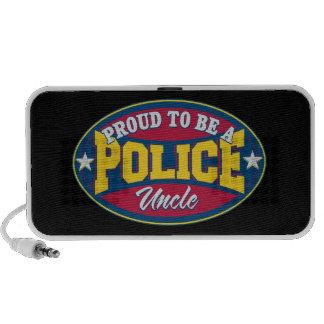 Orgulloso ser un tío de la policía portátil altavoz