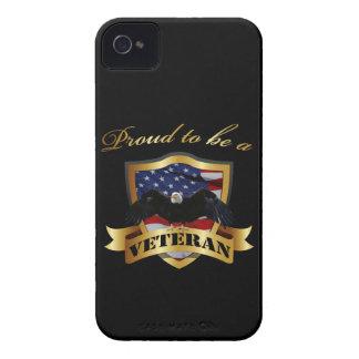 Orgulloso ser un veterano carcasa para iPhone 4