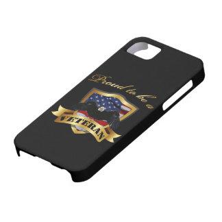 Orgulloso ser un veterano iPhone 5 fundas