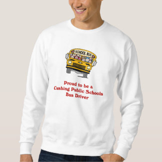 Orgulloso ser una camisa del conductor del autobús