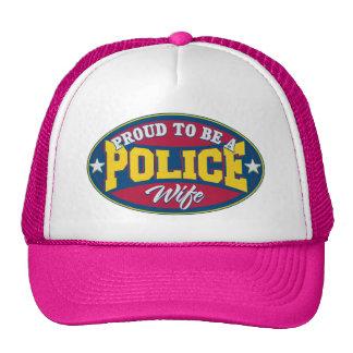 Orgulloso ser una esposa de la policía gorro