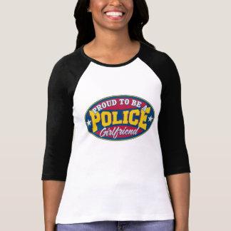 Orgulloso ser una novia de la policía camisetas