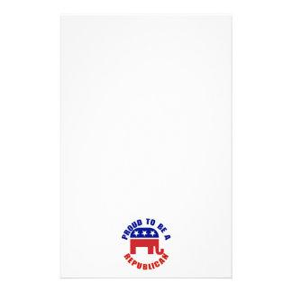 Orgulloso ser una original republicana papeleria de diseño