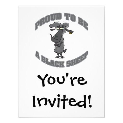 orgulloso ser una oveja negra