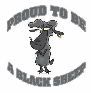 orgulloso ser una oveja negra escultura fotografica