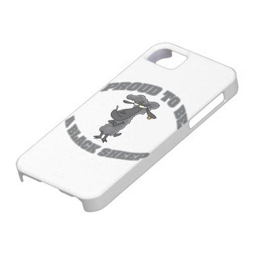 orgulloso ser una oveja negra iPhone 5 Case-Mate cárcasas