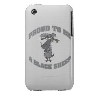 orgulloso ser una oveja negra iPhone 3 carcasas
