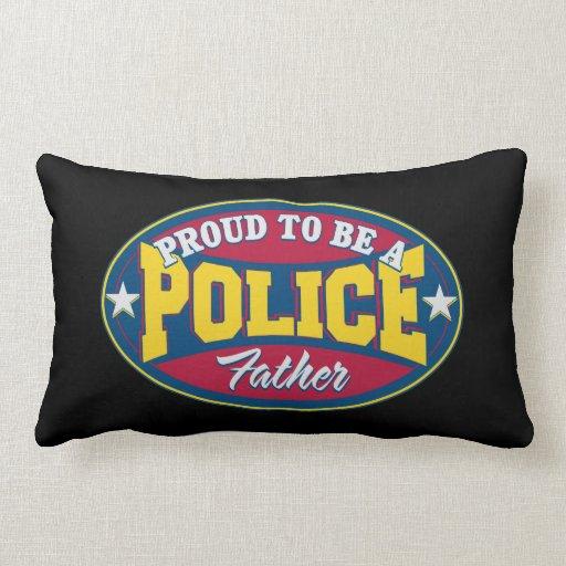 Orgulloso ser una policía engendre almohada