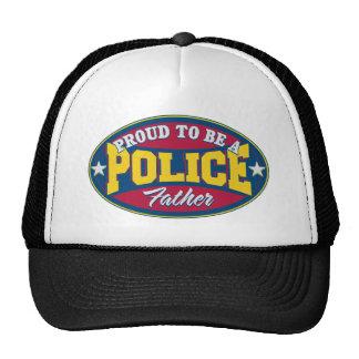 Orgulloso ser una policía engendre gorros bordados