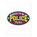 Orgulloso ser una policía engendre postales