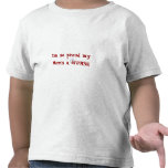¡Orgulloso una ENFERMERA de mi mamá! +Casquillo de Camiseta