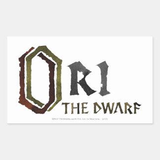 Ori Name Rectangular Sticker
