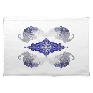 orient and spaceship cloth placemat